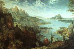 Landscape with the Flight into Egypt / Pieter Bruegel