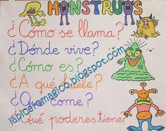 LAPICERO MÁGICO: Descripción de monstruos