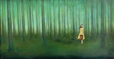 """Begin Again"", Duy Huynh; acrylic on wood"