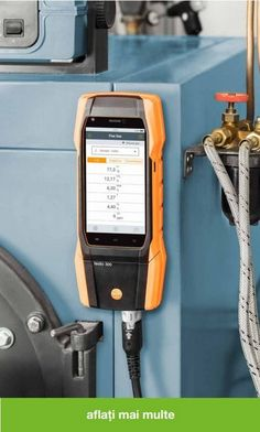 That is what the new testo 300 flue gas analyzer with smart-touch operation stands for. Landline Phone, Technology, Tech, Tecnologia