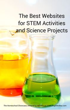 Looking for STEM activity ideas for kids? These are the best websites for STEM activities for kids of all ages. You will never run out of project ideas! Science Activities For Kids, Stem Science, Preschool Science, Science Experiments Kids, Teaching Science, Stem Activities, Science Projects, Stem Projects, Stem Teaching