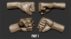 Sculpting A Fist in Zbrush - Part 1
