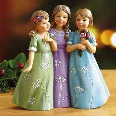 Three Sisters Figurine $12.00