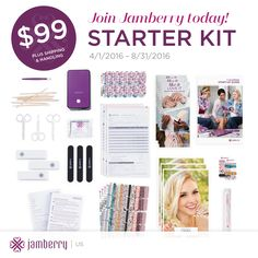 Our brand new starter kit is available April 1!! It now includes MORE for the same price!! (including two EXCLUSIVE designs, Nourish samples, 4 mega sheets of accent nails, and two wraps of your choice once you have your first party) annamorris.jamberry.com/join