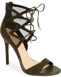 Daya by Zendaya 'Anderson' Ghillie Lace-Up Mesh Sandal (Women)