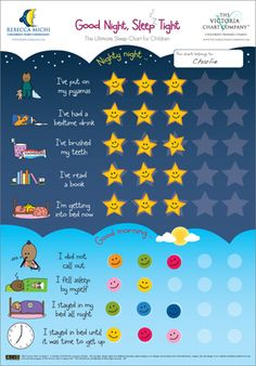 GoodNight SleepTight Activity/Reward Chart! Need to make this for Maeven asap!