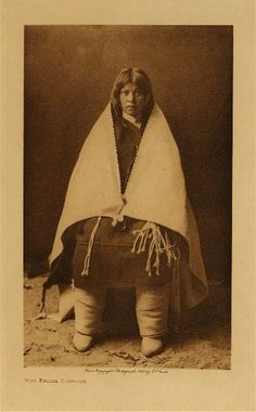 Hopi bridal costume | Seattle E.S. Curtis 1900