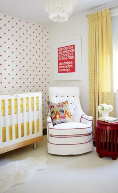 Red and yellow, huh?!  danielle oakey interiors