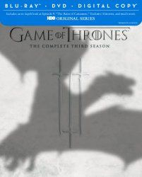 Game of Thrones: The Complete Third Season (Blu-ray/DVD Combo + Digital Copy) | moviehddvds.com