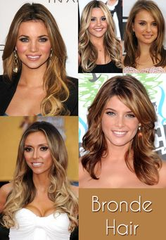 Summer hair... though this is just ombre- I don't like the bronde term...