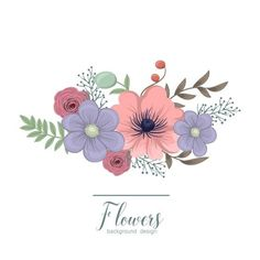 Diy Embroidery Flowers, Simple Embroidery Designs, Floral Embroidery Patterns, Flower Pattern Design, Flower Patterns, Flower Designs, Flower Video, Guache, Flower Doodles