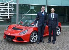 lotus. Jean-Marc Gales - CEO of Group Lotus and Aslam Farikullah