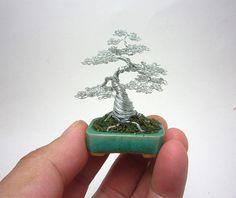 Miniature Wire Bonsai Trees