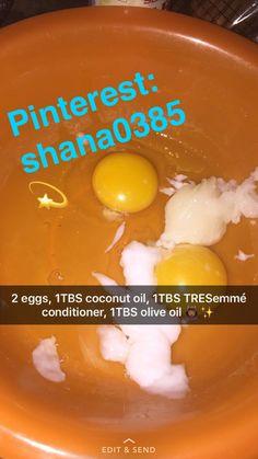 Natural hair. Protein treatment. pinterest : shana0385