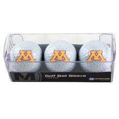 NCAA Minnesota Golden Gophers 3 Ball Sleeve by WinCraft.  5.23. Vibrant  Colors. Perfect 46c7af663