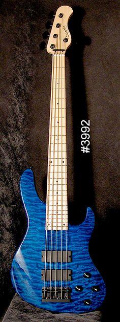 5st Bass Guitar Chords, Guitar Chord Chart, Acoustic Guitar, Custom Bass, Fender Custom Shop, Custom Guitars, I Love Bass, Fender Bass, All About That Bass