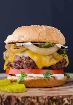 The Ultimate Juicy Burger is a mouth watering, cheese oozing, and grease dribbling extravaganza. This recipe will teach you how to make the perfect burger. Fire up those grills for Labor Day and let's chomp on some delicious ground chuck. I'm not messing around with this recipe folks. The Ultimate Juicy Burger recipe will be [...]