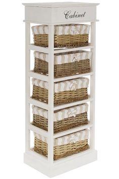 Comoda cu 5 cosuri & capac Joana Lemn 104x38x28 cm Shoe Rack, Best Sellers, Shelving, Vintage, Home Decor, Shelves, Decoration Home, Room Decor, Shoe Racks