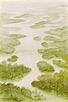 Landschaft von Anton Lehmden Anton, Vienna School Of Fantastic Realism, Landscape Paintings, Landscapes, Les Oeuvres, Austria, Artists, Photography, Inspiration