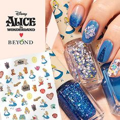 BEYOND DISNEY Alice in Glow Nail Art Polish Gradation Kit Alice in Wonderland