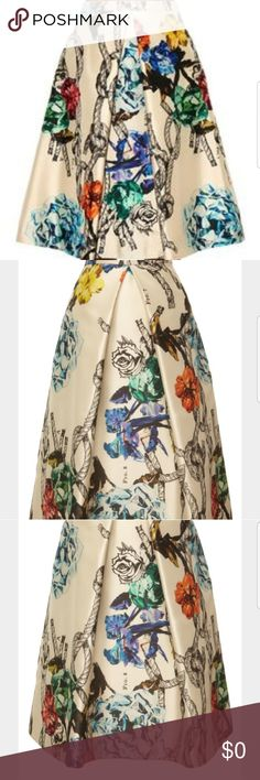 Selling this Looking for this Tibi  tattoo multi print midiskit on Poshmark! My username is: kkkwin. #shopmycloset #poshmark #fashion #shopping #style #forsale #Tibi #Dresses & Skirts