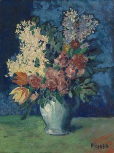 Pablo Picasso, 'Flowers' 1901