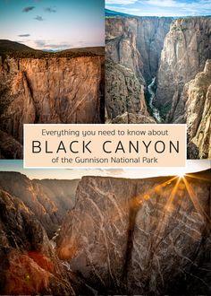 Colorado National Parks, Gunnison National Park, Road Trip To Colorado, Family Road Trips, Us National Parks, Rocky Mountain National Park, American National Parks, Colorado Hiking, Usa Travel Guide