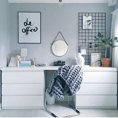WEBSTA @ maisonguru - I also love this white and grey solution made from two…