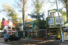 BZZ Arquitectura's shipping container mall QUO Container Center in Buenos Aires