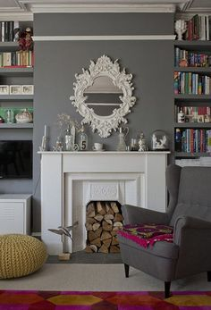 A cozy 2-bedroom Victorian flat in London. See all the images here.