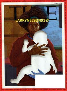 TIME MAGAZINE JUNE 15 2020 HARLEM RIA FOYE TRAYVON MARTIN ERIC HARRIS BLM BLACK Michael Rose, Trayvon Martin, Time Magazine, Magazines, Black, Journals, Black People, Magazine, All Black