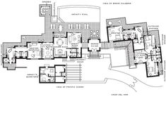 interesting floor plan  Casa del Mar Residence Estate | Four Seasons Resort Costa Rica