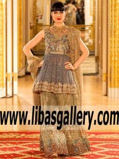 693a7ab2dbe 21 Best Umsha by Uzma Babar Bridal Dresses 2018 Collection Reveals ...