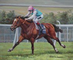 Frankel Sussex Stakes Glorious Goodwood Racehorse Horse Racing Art Oil Painting | #1776677650
