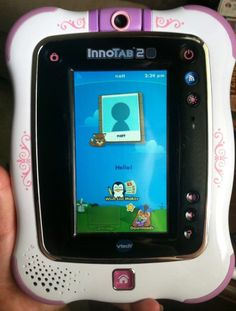 Vtech innotab 2s Wifi Pink purple Girls 1-9 Years with 21 Games 6 Books 55 Songs #VTech
