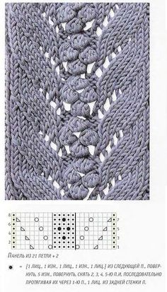 Russian Site with many knitting charts that need no translation