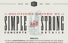 Retro Website Designs