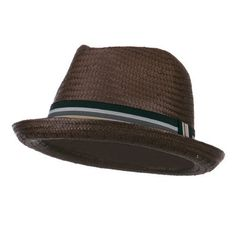 1ca2f0d749 Mens Paper Woven Straw Fedora Brown L    Be sure to check out this awesome