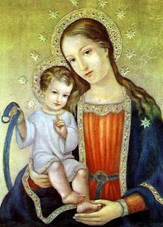 This past weekend, we celebrated Our Blessed Mother under her title of the Feast of Our Lady of Consolation . Divine Mother, Blessed Mother Mary, Blessed Virgin Mary, Religious Pictures, Religious Art, Hail Holy Queen, Christian Artwork, Queen Of Heaven, Catholic Saints