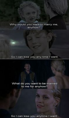 Jake & Mel #Sweet_Home_Alabama a classic. all memorable actors.