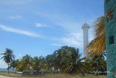 Faro de Maya situado en la entrada de la Bahía de Matanzas en el área de Laguna de Maya