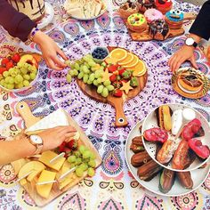 Plans for tomorrow: picnic! (featuring some cheat day snacks)
