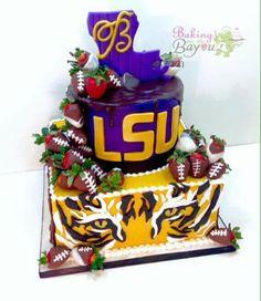 LSU cake.