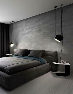 The Fundamentals of Modern Bedroom Decor Ideas for Men's That You Will be Able t. The Fundamentals of Modern Bedroom Decor Ideas for Men's That You Will be Able to Benefit From Starting Immediately If it comes to design, there are l. Modern Rustic Bedrooms, Modern Bedroom Decor, Contemporary Bedroom, Modern Decor, Modern Contemporary, Trendy Bedroom, Bedroom Furniture, Scandinavian Bedroom, Modern Mens Bedroom