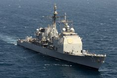 USS Mobile Bay at sea. by Official U.S. Navy Imagery, via Flickr