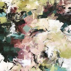Detail wip #chartreuse #plum #teal #wip #modernart #contemporaryart #painting #drawing #color #abstractart #landscapepainting #abstractlandscape #abstract #garden #interiordesign #art #artist #carlosramirez