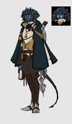 [OC][ART] Tiefling Cleric, Golightly : DnD<<<he looks like Percy but a tiefling Character Design Sketches, Fantasy Character Design, Character Creation, Character Design References, Character Design Inspiration, Character Concept, Character Art, Dungeons And Dragons Characters, Dnd Characters
