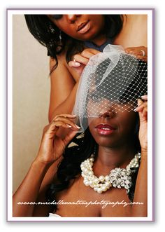 wedding birdcage veil www.michellevantinephotography.com