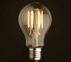 LED bulbs look just like old timey Edison incandescents, make steampunk energy efficient : TreeHugger Edison Lamp, Edison Lighting, Edison Bulbs, Energy Efficient Lighting, Energy Efficiency, Led Cob, Deco Originale, Original Vintage, 6 Pack