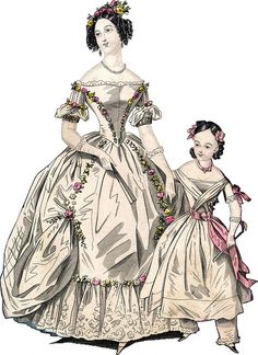 Another Victorian fashion plate~ I absolutely adore this one.